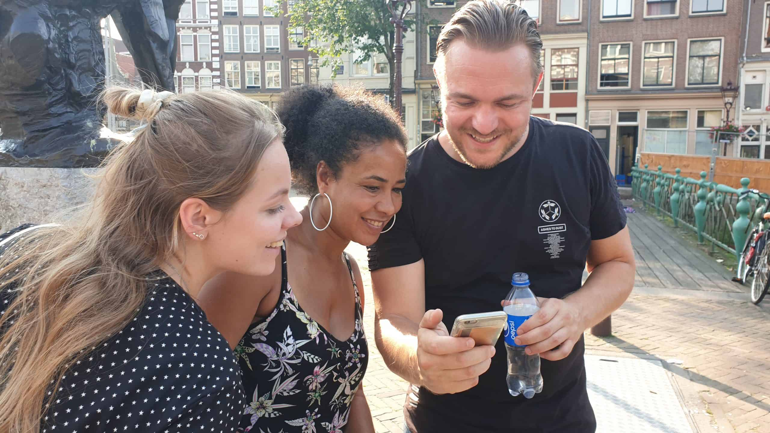 Escape The City App Game, speurtocht-amsterdam-puzzeltocht-amsterdam, interactieve-app-games